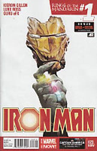 Iron Man: Rings of the Mandarin #1 - # 023.NOW