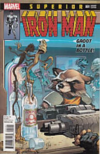 Superior Iron Man # 001c Limited Variant