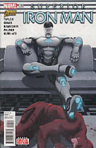 Superior Iron Man # 004