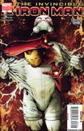 The Invincible Iron Man # 23b Limited Variant
