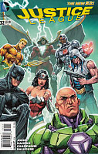Justice League # 32b Limited Variant