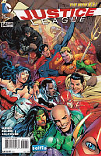 Justice League # 34b Limited Variant