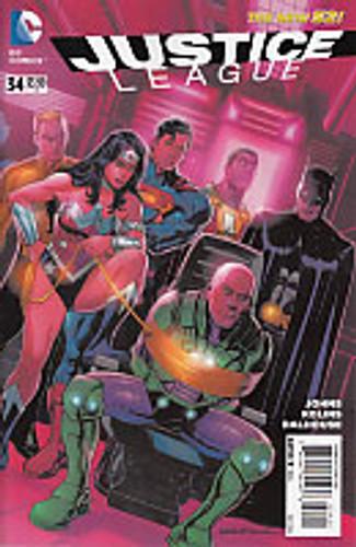 Justice League # 34d Limited Variant