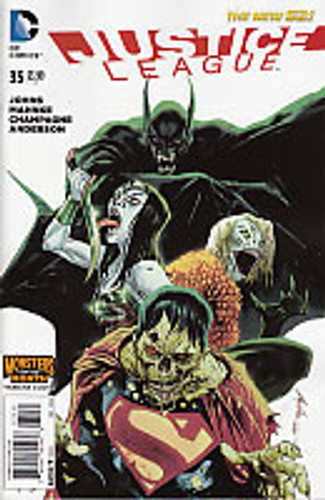 Justice League # 35b Limited Variant