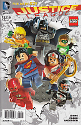 Justice League # 36b Limited Variant