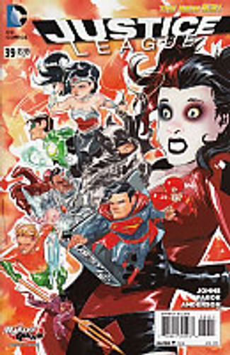 Justice League # 39b Limited Variant