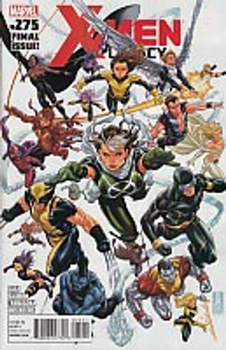X-Men Legacy vol 1 # 275a (FINAL ISSUE!!)