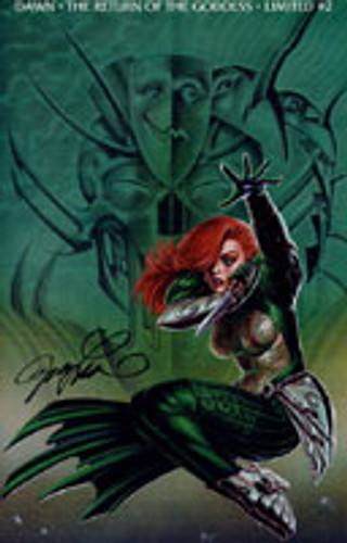 Dawn: The Return of the Goddess # 2 Signed by Creator 'JOSEPH MICHAEL LINSNER'
