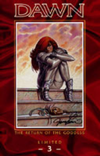 Dawn: The Return of the Goddess # 3 Signed by Creator 'JOSEPH MICHAEL LINSNER'