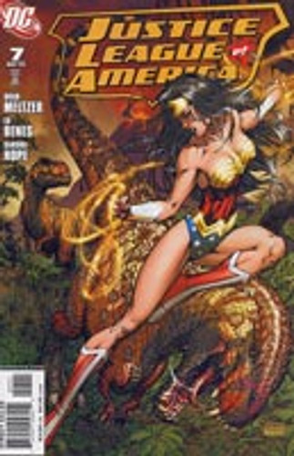 Justice League of America # 7c Limited Variant