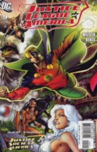 Justice League of America # 9b Limited Variant