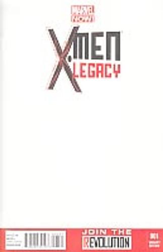 X-Men Legacy vol 2 # 1c limited 'BLANK' variant