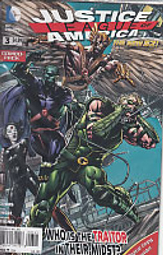 Justice League of America Vol 2. # 3c Limited Variant