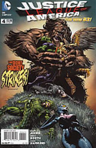Justice League of America Vol 2. # 4