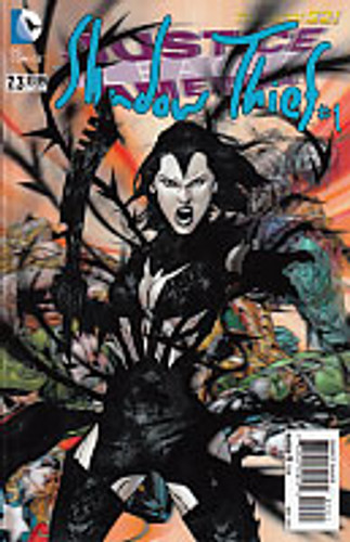 Justice League of America: Shadow Thief #1 - Issue Vol 2. # 7.3 3D Cover