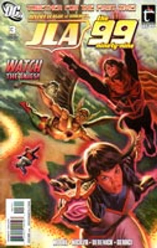 Justice League: the ninety-nine # 3