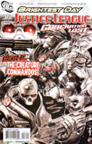Justice League: Generation Lost # 16