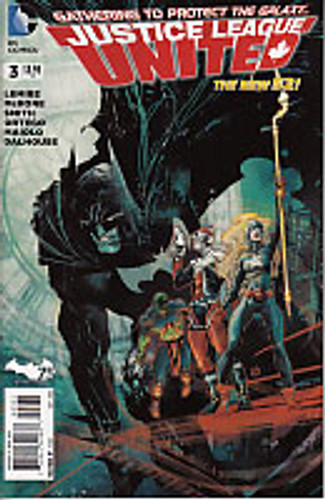 Justice League United # 3b Limited Variant