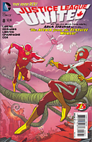 Justice League United # 8b Limited Variant