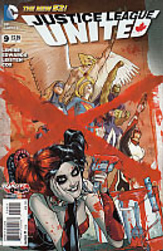 Justice League United # 9b Limited Variant