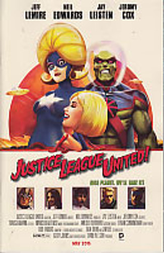 Justice League United # 10b Limited Variant