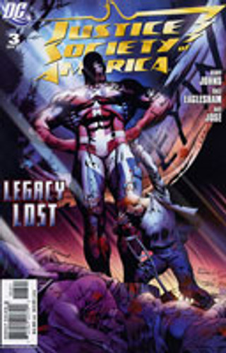 Justice Society of America: Legacy Lost # 3b Limited Variant