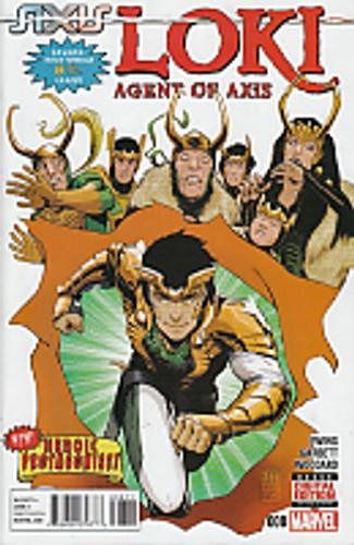 Loki: Agent of Asgard # 008