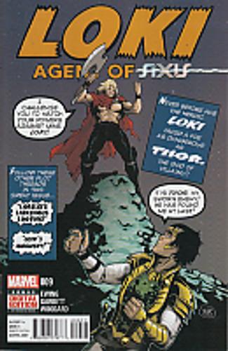 Loki: Agent of Asgard # 009