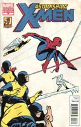 Astonishing X-Men # 48b limited 'ASM 50TH ANNIV' variant