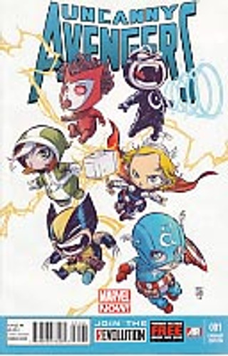 Uncanny Avengers vol 1 # 1b limited 'Baby' variant