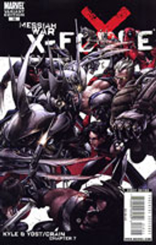 X-Force vol 1 # 16b limited variant