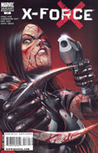 X-Force vol 1 # 17b limited 'BLOODY' variant