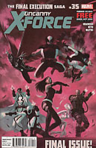 Uncanny X-Force vol 1 # 35 (FINAL ISSUE!!)