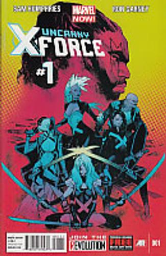 Uncanny X-Force vol 2 # 1a