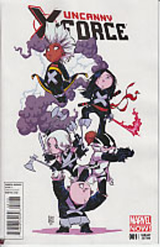 Uncanny X-Force vol 2 # 1b limited 'BABY' variant