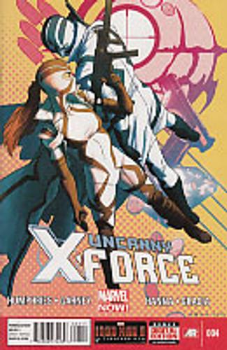 Uncanny X-Force vol 2 # 4