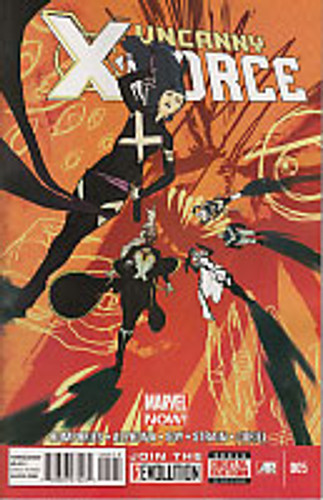 Uncanny X-Force vol 2 # 5