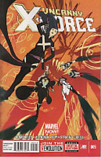 Uncanny X-Force vol 2 # 5