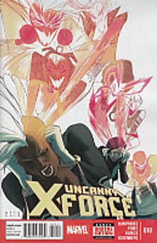 Uncanny X-Force vol 2 # 10
