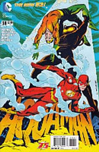 Aquaman # 38b 'Flash 75' variant