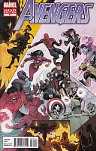 Avengers # 34b limited variant