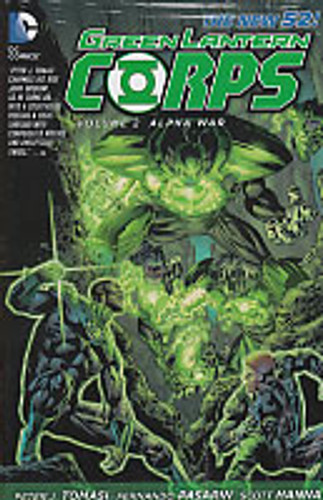 Green Lantern Corps Vol 2 HC - Alpha War