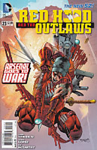 Red Hood and the Outlaws # 23