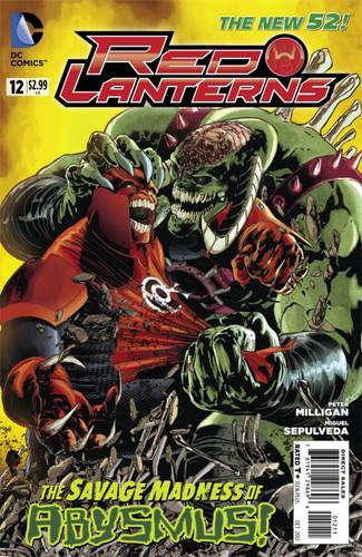Red Lanterns # 12