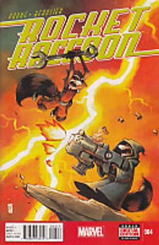 Rocket Raccoon # 004