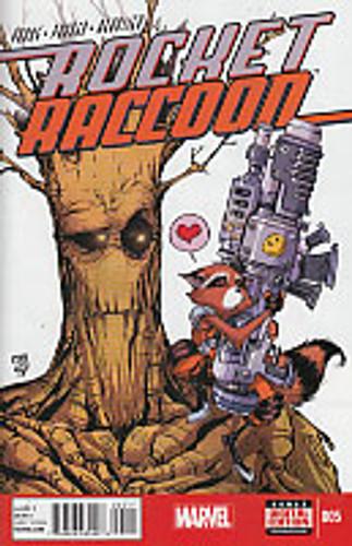 Rocket Raccoon # 005