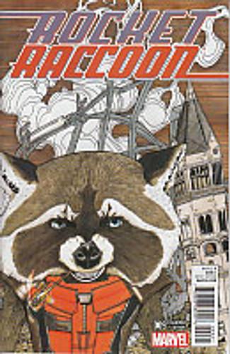Rocket Raccoon # 09b Limited Variant