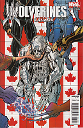 Wolverines # 1c limited 'CANADA' variant