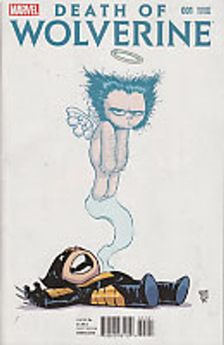 Death of Wolverine # 1b (of 4) limited 'SKOTTIE YOUNG' variant