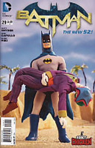"Batman # 29b limited ""Robot Chicken"" variant"